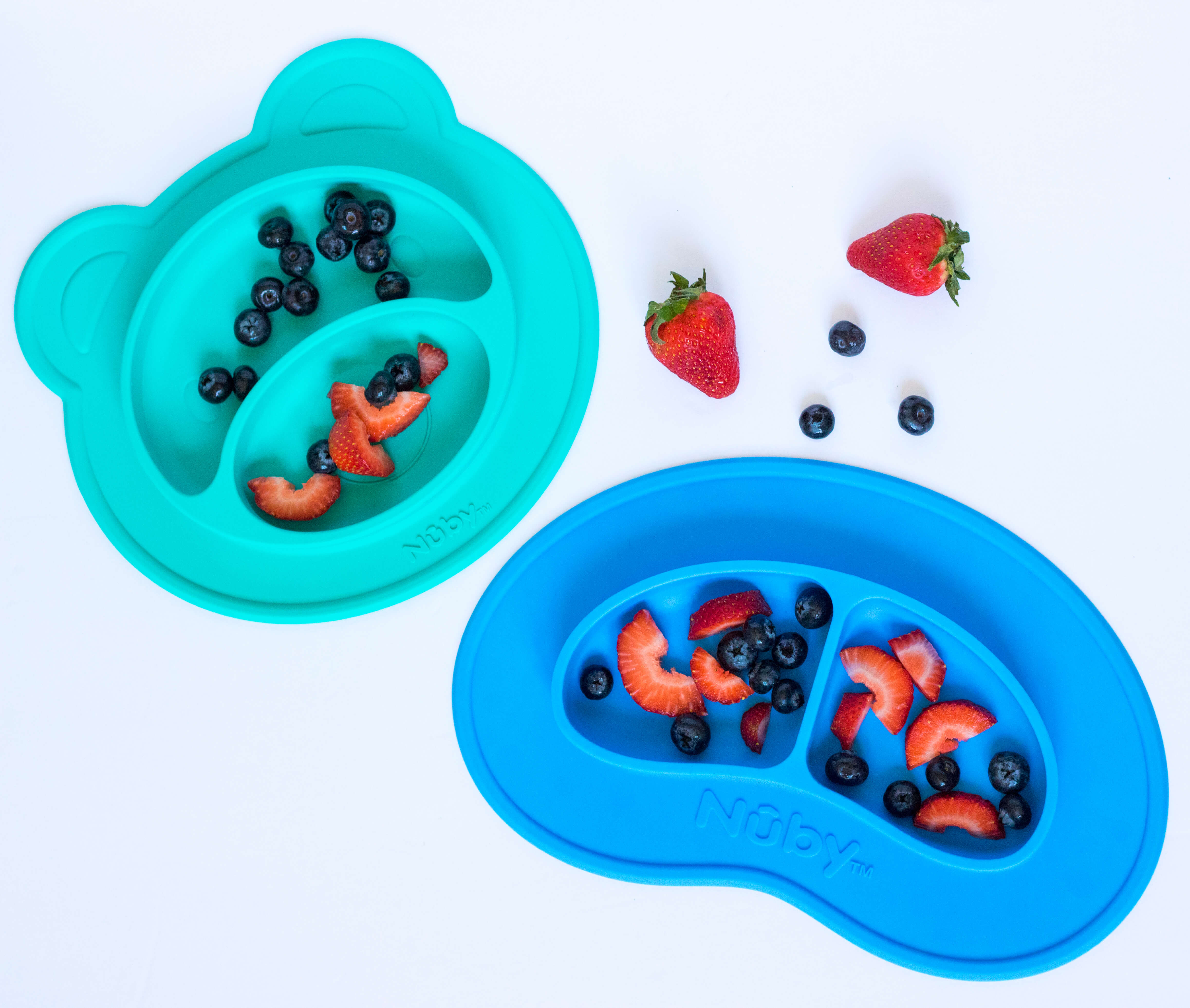 Nuby Sure Grip Miracle Mat Suction Plates