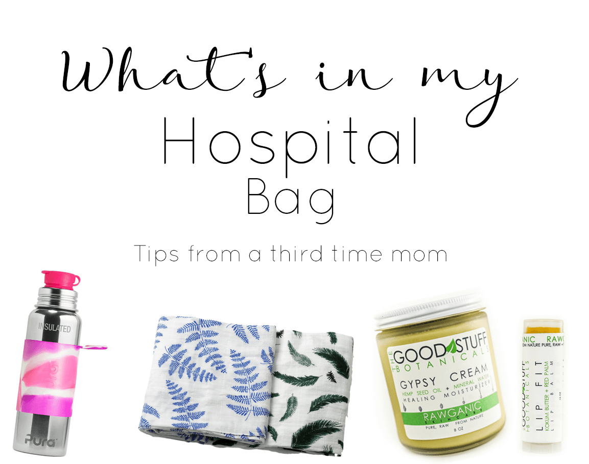 My Hospital Bag MUST Haves!