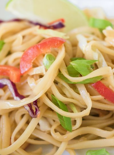 Summer Asian Noodle Salad