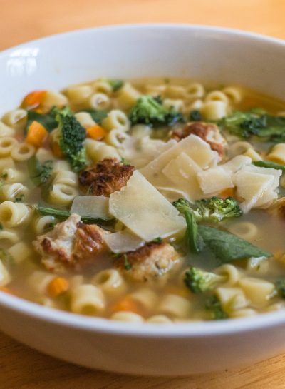 Homemade Chicken Soup – With Chicken Meatballs